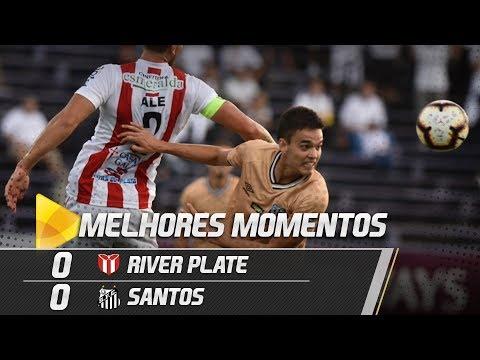 River Plate-URU 0 x 0 Santos | MELHORES MOMENTOS | Copa Sul-Americana (12/02/19)