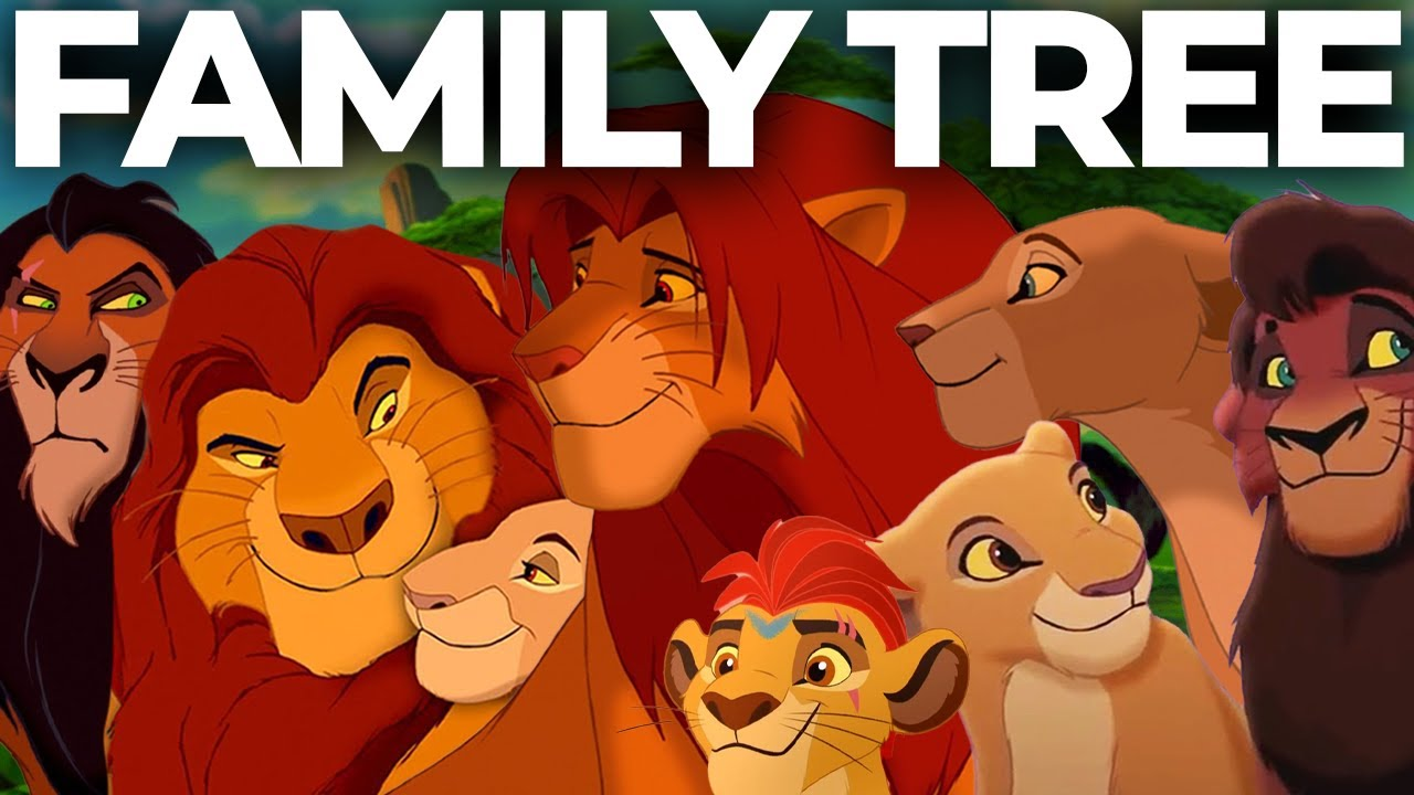 Download The Complete Lion King Family Tree