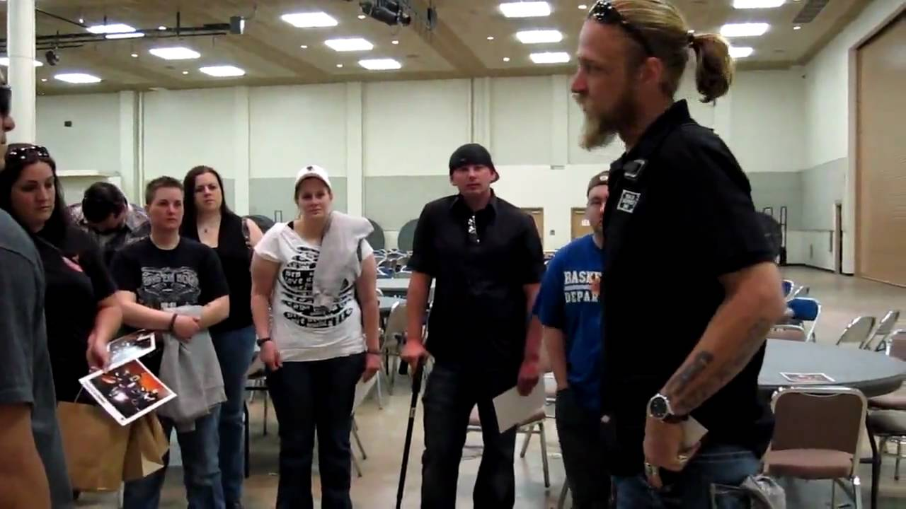 Shinedown Meet And Greet With Wounded Warriors Prep Talk Youtube