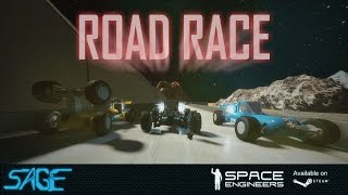 Space Engineers, Road Race (DX11, 4k, 60fps~)
