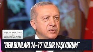 Sosyal medyadaki linç kültürü - Başkan Erdoğan ile Gündem Özel