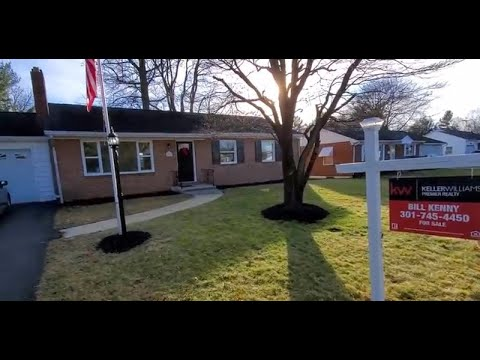 Beautiful Brick Rancher For Sale in Hagerstown Maryland