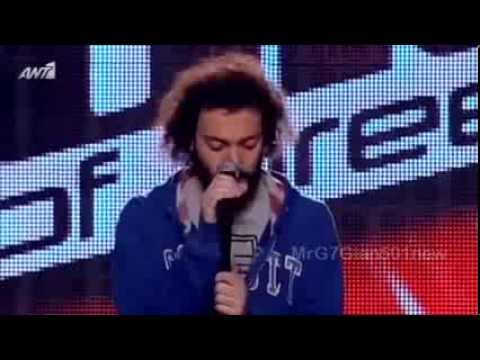 The Voice - Παναγιώτης Βιντζηλαίος (Billie Jean) [17/1/2014]