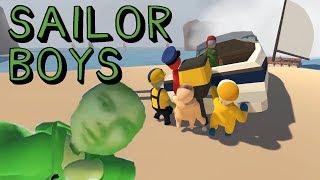 Human Fall Flat: Sensual Sailor Boys