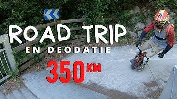 ROAD TRIP STRASBOURG - SAINT DIE DES VOSGES EN GYROROUE : LA DEODATIE (EUC ELECTRIC UNICYCLE) 1/2