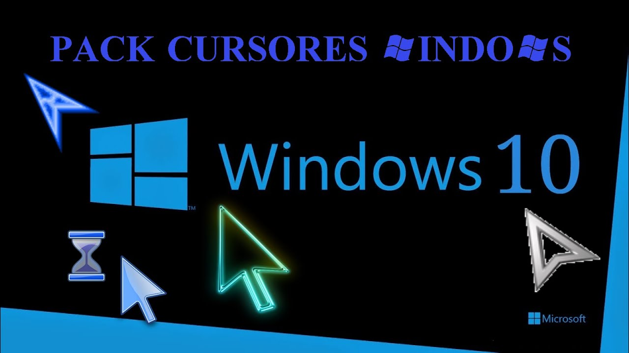 cursores para windows 7 para descargar
