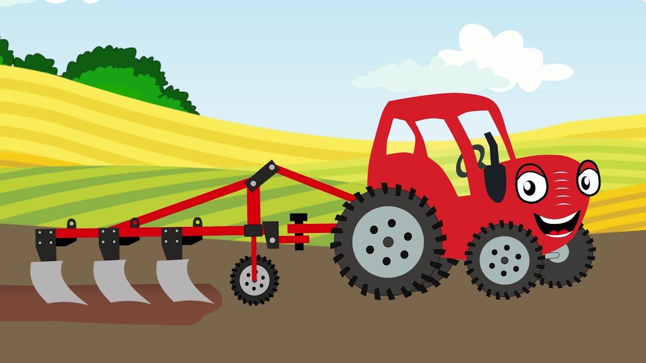 Трактор Может - Тыр Тыр Трактор - Песенки для детей