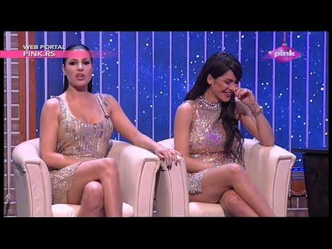 Ami G Show S08 - Mia Borisavljevic i Marina Viskovic imitiraju jedna drugu