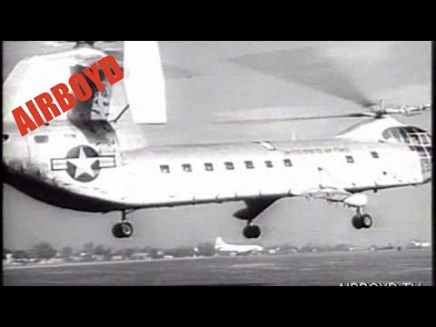 Piasecki Tandem Rotor Helicopter Introduced 1955
