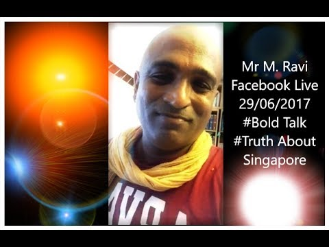 Mr M. Ravi Open Talk On Facebook Live 29/06/2017