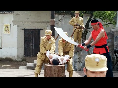 Chinese captain was about to be beheaded,but suddenly accident happened!Fool soldier 31