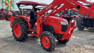 รถไถมือสอง ขายรถไถตัดคูโบต้าL4708SPราคา495000บาท อุปกรณ์ตักดินเกษตรผมกาศโทร 081-365-5997 อำพร