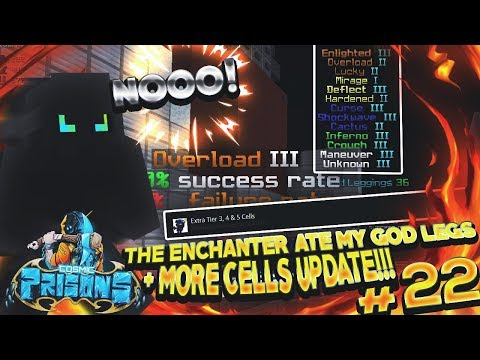 THE ENCHANTER ATE MY GOD LEGS  MORE CELLS UPDATE!!!  COSMIC PRISONS  S3 EP 22 SOVEREIGN PLANET