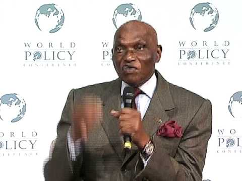 Abdoulaye Wade - Plenary Session Part 2