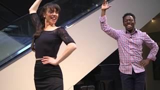 Flamenco Dance Lesson with Megan La Azulita and Joshua Jones