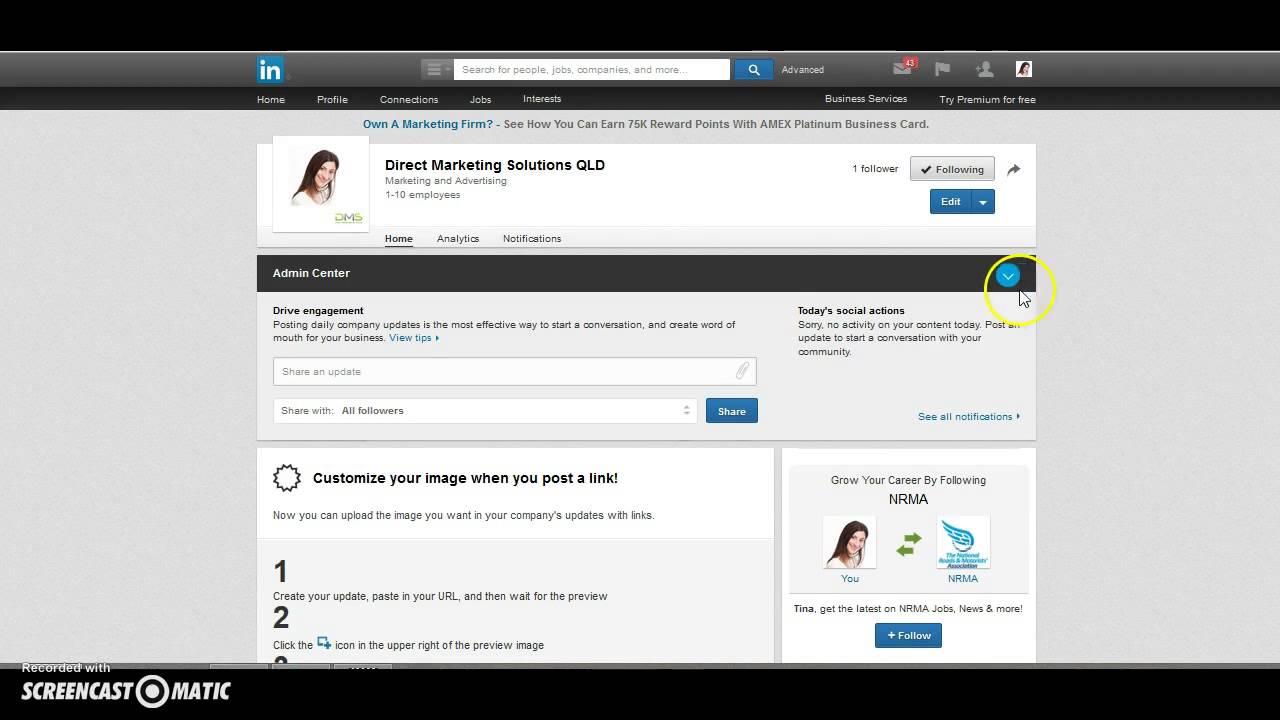 Delete A Linkedinpany Page