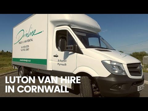 Luton Van Hire Cornwall - Driveline
