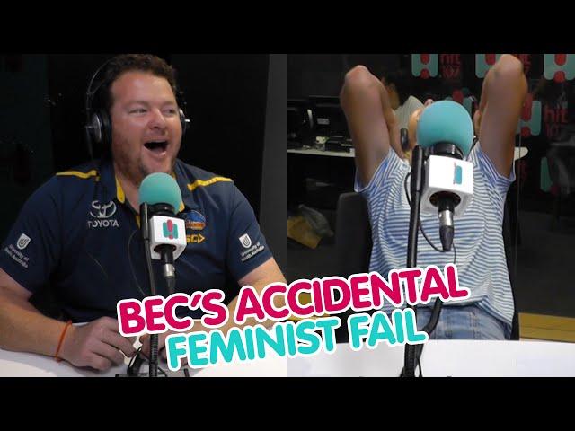 Bec's Accidental MAJOR Feminist Fail