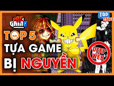 Bí Ẩn Top 5 Game Bị Nguyền Rủa - Đừng Thử Chơi Game Từ Deep Web | meGAME