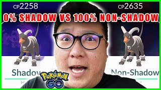 0% SHADOW VS 100% NON-SHADOW POKEMON, WHICH IS STRONGER? - Pokemon GO