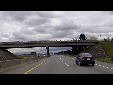 Driving to ANNACIS Island (Delta BC) from Vancouver Canada - Tour of Industrial Area