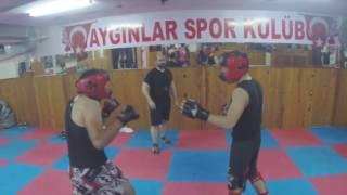 Mert vs  Hacı Hard Sparring