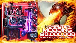 #16 PC MODDING  Dragon War 80.000.000 SLI GTX 1080 Gaming Z (Review-Benchmark-Gaming-Cara Rakit)