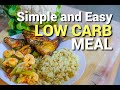Simple and Easy Low Carb Diet Meal | LCIF Keto Diet Philippines