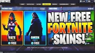 """*LEAKED* How To Get NEW """"Fate"""" + """"Omen"""" Skin In Fortnite! *New* FREE SKINS! (New Fortnite SKINS)"""