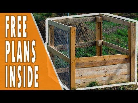 Compost Bin DIY - Plans Inside