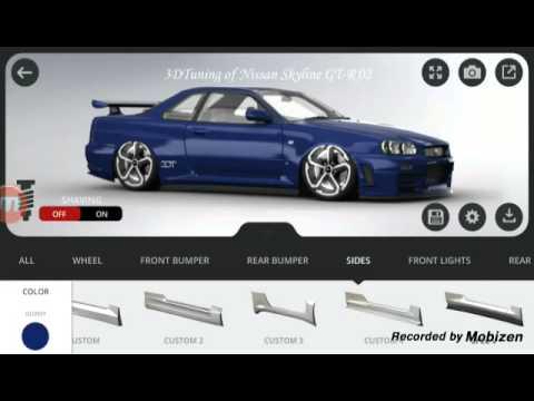 App Vorstellung 3D Tuning Autos tunen mit der App