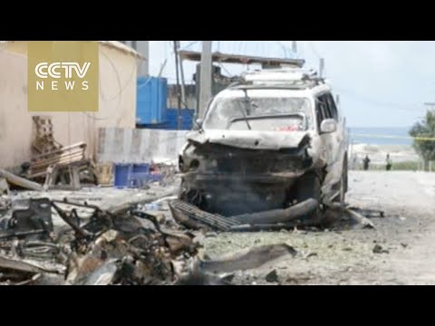 Car bomb attacks kill at least 13 near Somalia UN peacekeepers base