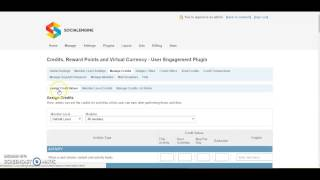 How to Set-up 'Credits, Reward Points and Virtual Currency - User Engagement Plugin'