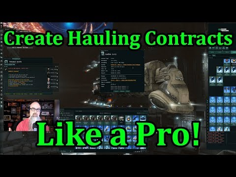 EVE Online - Create Hauling Contracts Like a Pro!