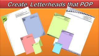Letterhead - Create an Awesome Letterhead - Word 2010/2013 - Example 2 Mp3