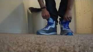 Nike Air Max Lebron 8 VIII V2 Entourage On Feet and Summit Lake High On Feet!!!!!!!!!!!!!!!!