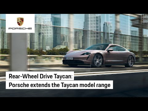 Porsche Taycan - Rear-Wheel Drive Joins the Family