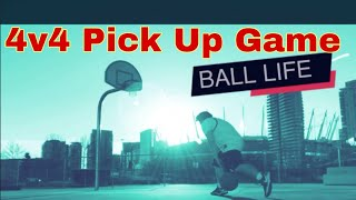 4v4 Pick Up Basketball Game @vancouver Bc