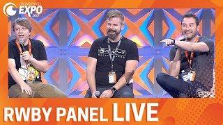 RWBY Panel LIVE At Crunchyroll Expo!   CRX2017