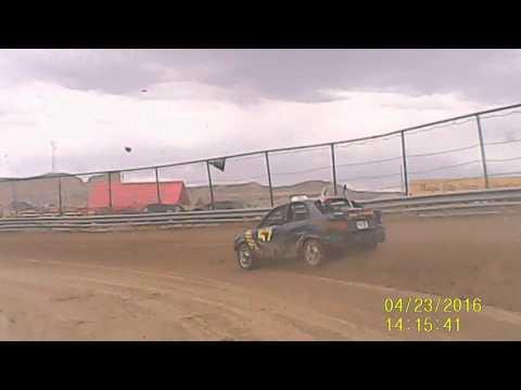 Valentine Speedway 4-23-2016 Practice run