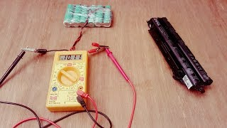 How to Make 12 Volt Lithium Ion battery Battery from old Laptop Battery
