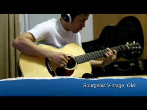 Bourgeois Vintage OM sound check (ขาย 115,000 บาท)