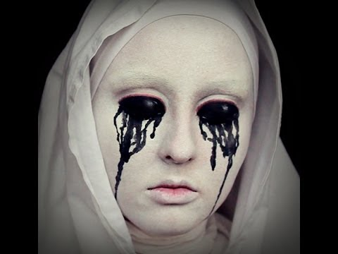 White Nun Makeup Tutorial- American Horror Story (Asylum) No Contacts!