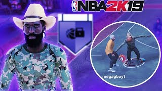 UNLOCKING The MOST OVERPOWERED Badge Made My LOCKDOWN DEFENDER TOXIC!! NBA 2K19 PARK