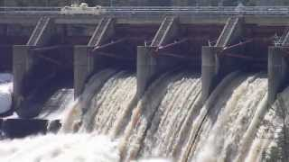 Dam Closes Flood Gates