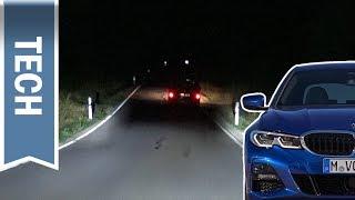 Laserlicht & adaptive LED-Scheinwerfer mit Selective Beam im 3er BMW (G20) im Test/Nachtfahrt
