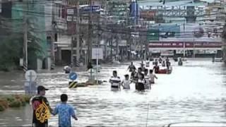 Thailand floods cause havoc