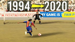 Penalty Kicks From FIFA 94 to FIFA 20