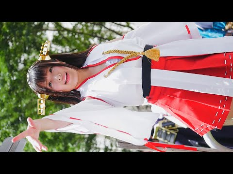 [4k60p] Yutori ゆとり Miko 巫女 Shrine Maiden Sexy Cosplay Comiket @creamcandy123