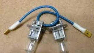 видео Замена противотуманной лампы lada 2110 (ваз 2110)